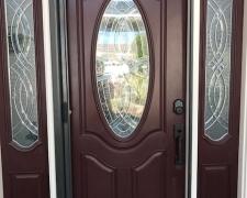 BRONZE ROLL-AWAY DISAPPEARING SCREEN DOOR