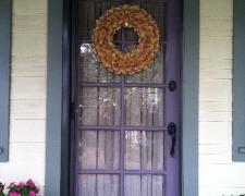 BRONZE INVISIBLE SCREEN DOOR