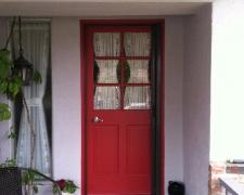 BRONZE ROLL-AWAY SCREEN DOOR