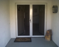 DESERT SAND FRENCH TRU-VIEW SECURITY SCREEN DOORS