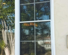 PASS-THRU WINDOW SCREEN