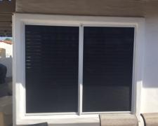 SIDE BY SIDE SOLAR WINDOW SCREENS