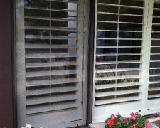 BRONZE FRAME WINDOW SCREEN